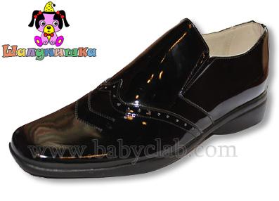 Лакированная детская обувь