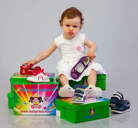 Купить детскую обувь не по размеру